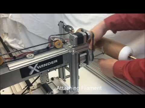 X-Winder 4-Axis Model 4X-23 in Action !