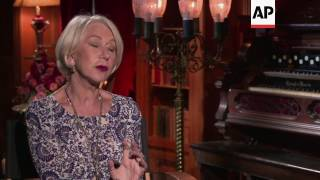 Helen Mirren gets spooked in Winchester Mystery House