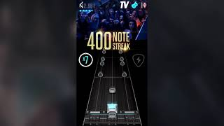 Playing an unreleased GHTV chart on Guitar Hero Live mobile in 2019