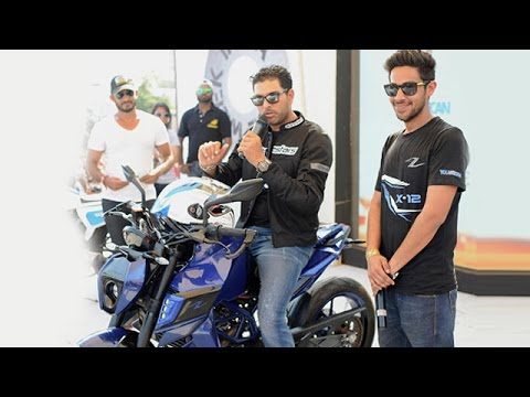 Yuvraj Singh YouWeCan KTM X 12 Bike Of Autologue Design At India Bike Week 2015