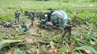 US Army MASH Helicopter & Toy soldiers Figure action Toys for kids