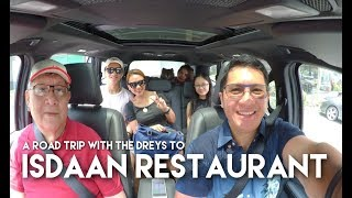A roadtrip with The Dreys to Isdaan Restaurant in Nueva Ecija