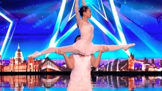 Gao Lin & Liu Xin, Unbelievable Acrobatics Duo | Ep 02 | Britain
