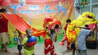 Trò Chơi Bé Rước Đèn Trung Thu ❤ Surich ToysReview TV ❤ Đồ Chơi Trẻ Em Múa Lân Trung Thu