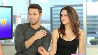 Ryan Guzman & Kathryn McCormick Step Up Revolution DVD Release Interview