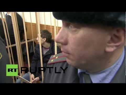 Russia: Smiling Dmitrichenko denies ordering Bolshoi Theatre acid attack