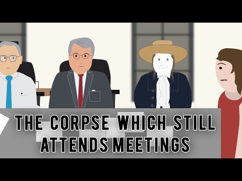The Corpse which still attends meetings (Strange Stories)