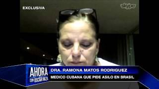 Ramona Matos la doctora que desertó en Brasil habla en exclusiva