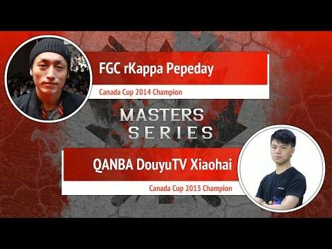 USFIV: FGC rKappa Pepeday vs QANBA DOUYU Xiaohai - Canada Cup Master Series
