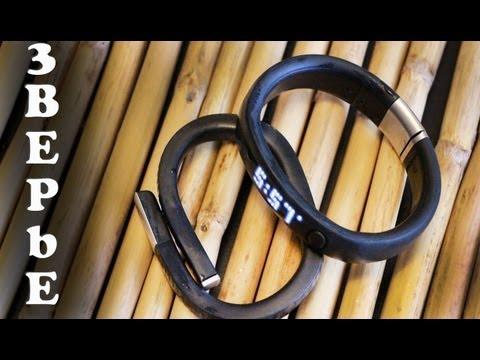 Nike Fuelband против Jawbone UP