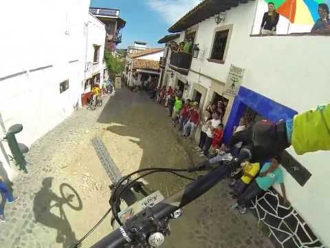 Antoine Bizet Backflip Frontflip Best tricks Downhill Taxco Mexico 2013