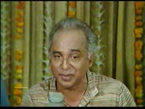 Dr. Vasantrao Deshpande sings Are Vedya Manaa from Sangeet Shakuntal...
