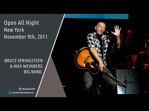 Bruce Springsteen | Open All Night - Stand Up For Heroes - 09/11/2011 (Multicam mix/Dubbed audio)