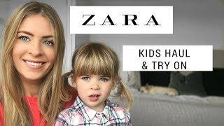 ZARA Toddler Haul & Try On!