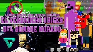 LA VERDADERA HISTORIA DEL HOMBRE MORADO (WILLIAM AFTON) | FNAF SISTER LOCATION | CUSTOM NIGHT