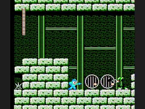 Mega Man 3 - Skull Castle Stage 1 Perfect Run