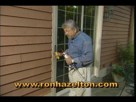 Correctly Flashing And Caulking An Exterior Door