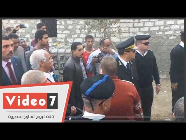 بالفيديو .. محافظ القاهرة يتابع أعمال إزالة المقابر بالبساتين