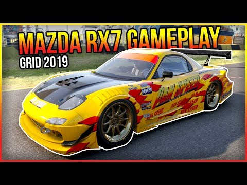 NEW GRID 2019 Game - Mazda RX7 Gameplay - Sydney Motorsports Park
