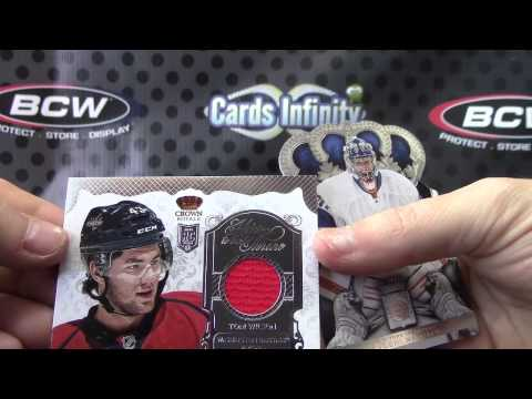 2013/14 Panini Crown Royale Hockey 12 Box Case Break GB
