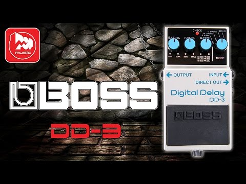 BOSS DD-3 - цифровой гитарный DELAY