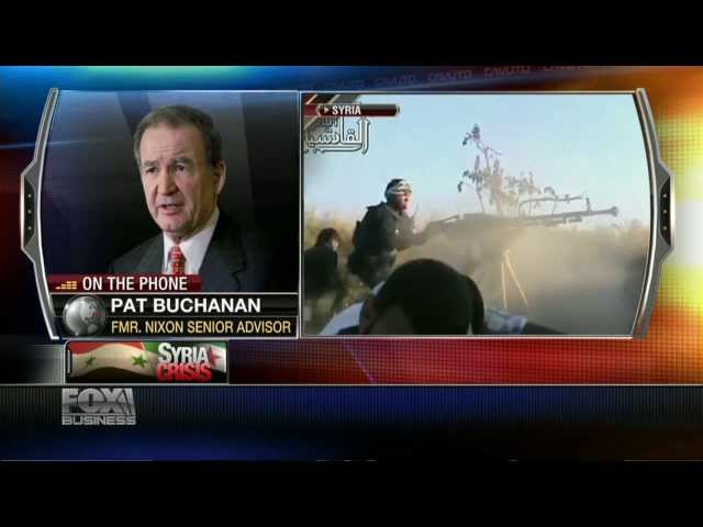 Pat Buchanan: Syria Is Dress Rehersal For War With Iran