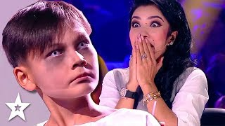 NIGHTMARE DANCERS! Terrifying Zombie Dance Scare Judges | Central Asia's Got Talent 2019
