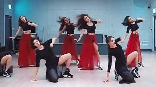 SISTAR I Like That mirrored dance practice video