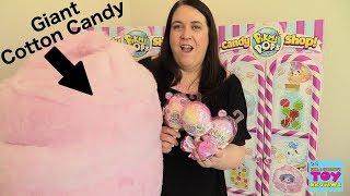 Pikmi Pops Surprise Flips & Super Flip Cotton Candy Plush Unboxing | PSToyReviews