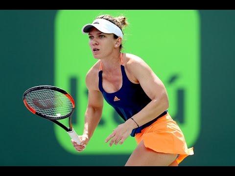 2017 Miami Open Second Round | Simona Halep vs Naomi Osaka | WTA Highlights