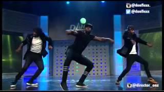 @Donflexx,@sugabrizzy & @Otwyst (Extigate-Team) performs at Dance With Peter Season1