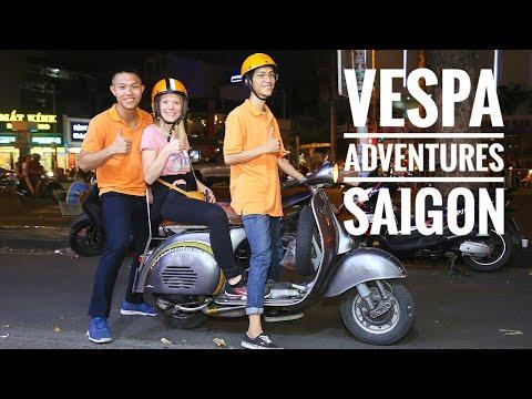 Vespa Adventures - Eine kulinarische Tour durch Saigon (Vietnam)