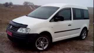 Краткий внешний обзор VW Caddy 2005 1.9 TDI