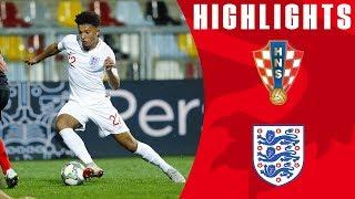 Croatia 0-0 England | England Made To Rue Big Chances | Official Highlights