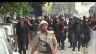 شهر على رابعة وثائقى لعملية فض و حرق و قتل و قنص المتظاهرين فى رابعة العدوية 16 9 2013