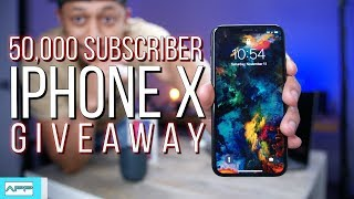 50,000 Subscribers FREE iPhone X Giveaway! ThankYou!
