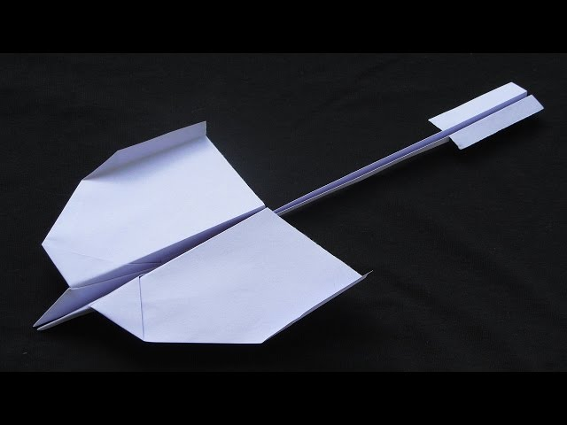 Paper Planes - How to make a Paper Airplane that Flies Far - Best Paper Airplane Tutorial | Swallow