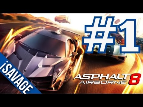 Asphalt 8 - Ramps be Cray! (iPad Gameplay) Part 1