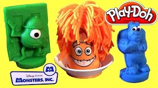 Play Doh Mold-A-Monster Set Disney Pixar Monsters INC. Fuzzy Pumper PlayDough by ToyCollector