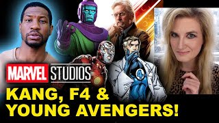 Jonathan Majors is Kang for Ant-Man 3 - Young Avengers, Fantastic Four