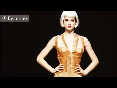 Sassy Sex Appeal & Intricate Corsets: Maya Hansen Spring 2012, Madrid Fashion Week | Fashiontv - Ftv video