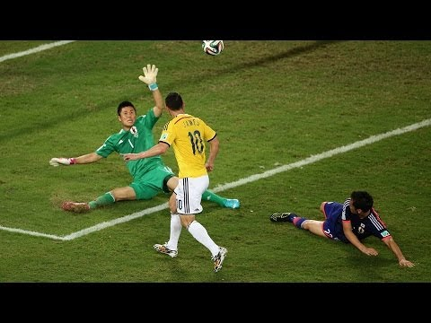 Japan 1 - 4 Colombia : World Cup 2014
