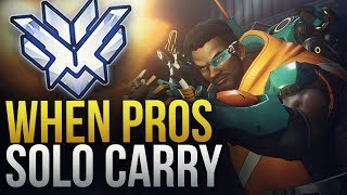 WHEN PROS SOLO CARRY #10 - Overwatch Montage