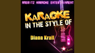 Temptation In The Style Of Diana Krall Karaoke Version