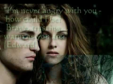 Twilight Best Quotes #1 - River Flows In You -