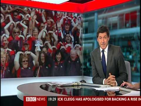 Sporting Equals on BBC News 19 Sep 2012 - Racism in Football Report