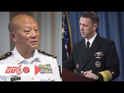 Trực tuyến giữa tư lệnh hải quân Mỹ và Trung Quốc: Tiêu điểm Bản tin tối 29/10/2015  VTC