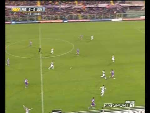Fiorentina Juventus goal pazzesco di Pazzini