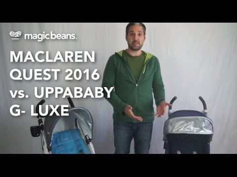 Maclaren Quest vs. UPPAbaby G-Luxe Most Popular   Comparisons   Reviews   Prices
