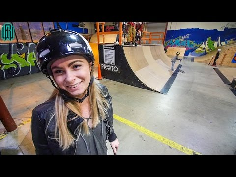 WORLDS HOTTEST GIRL SCOOTER RIDER!